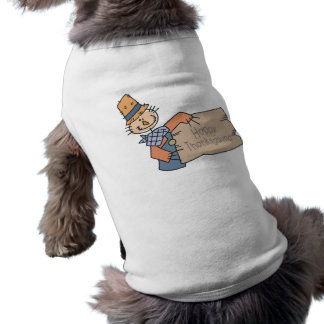 Happy Thanksgiving Doodle Doggie Tee