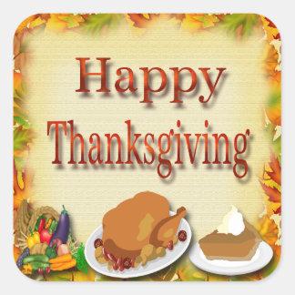 Happy Thanksgiving Envelope Seals