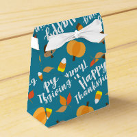 Happy Thanksgiving Favor Box