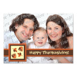 Happy Thanksgiving Flat Photo Greeting Card Invitations