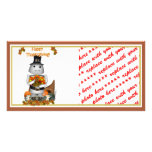 Happy Thanksgiving from Robo-x9 Personalized Photo Card