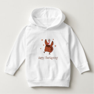 Happy Thanksgiving Funny Turkey Hoodie