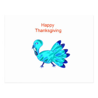 Happy Thanksgiving gobble! Postcard
