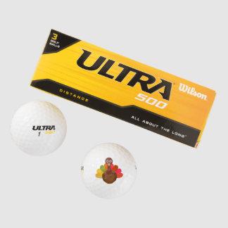 Happy Thanksgiving Golf Balls