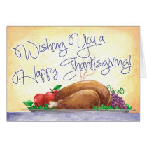 Happy Thanksgiving - Greeting Card