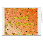 Happy Thanksgiving Greeting Card #1 5x7