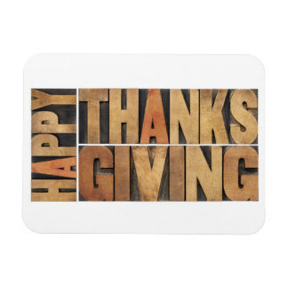 Happy Thanksgiving - Greetings Or Wishes Magnet