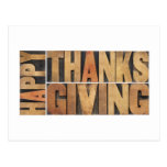 Happy Thanksgiving - Greetings Or Wishes Post Card