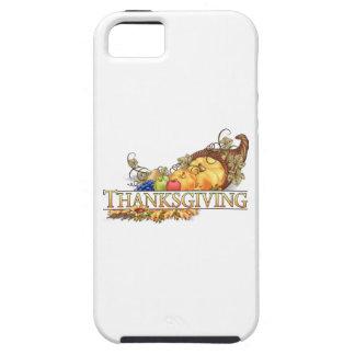 Happy Thanksgiving Horn Of Plenty iPhone SE/5/5s Case