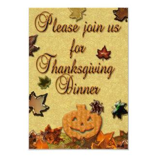 Happy Thanksgiving - Invitation