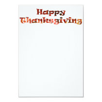 Happy Thanksgiving Invitation