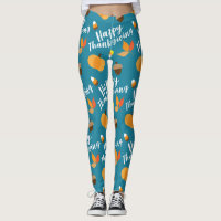 Happy Thanksgiving Leggings