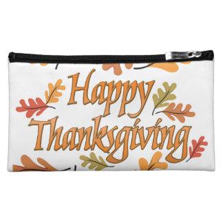 Happy Thanksgiving Makeup Bag