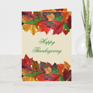 Happy Thanksgiving Message Cards