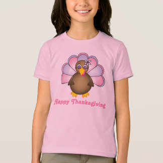 Happy Thanksgiving Mrs. Turkey T-Shirt