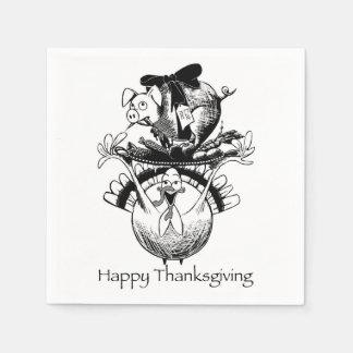 Happy Thanksgiving Napkin