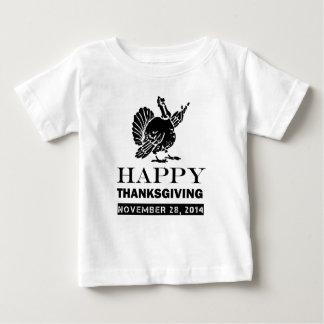 HAPPY THANKSGIVING, NOVEMBER 28 , 2014 BABY T-Shirt