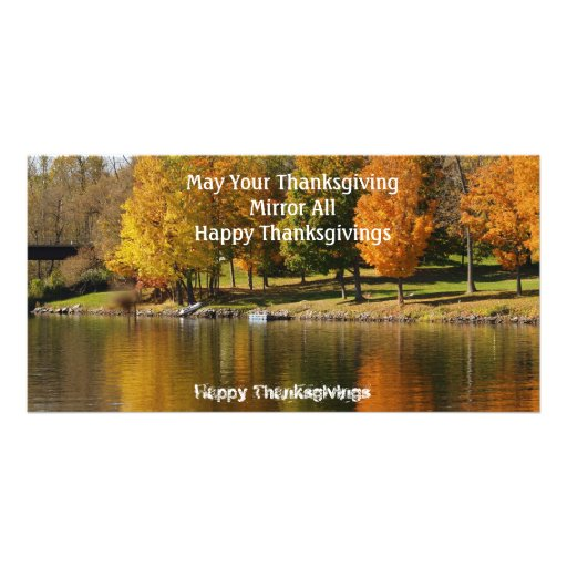 Happy Thanksgiving Picture Card