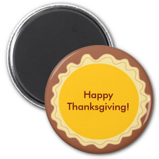 Happy Thanksgiving Pie Magnet