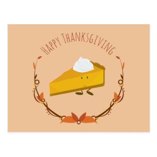Happy Thanksgiving Pie Slice | Postcard