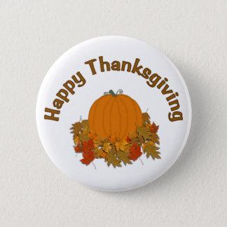 Happy Thanksgiving Pinback Button