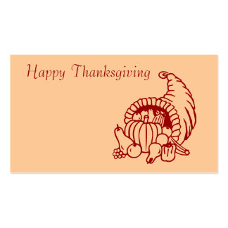 Thanksgiving Business Cards & Templates