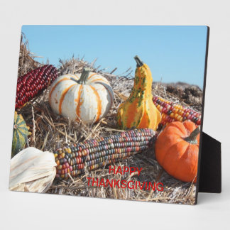 Happy Thanksgiving Plaque