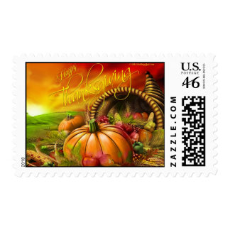 Happy Thanksgiving Postage