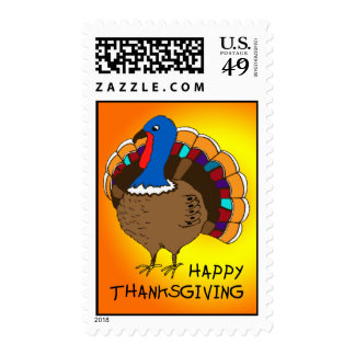 Happy Thanksgiving! Stamp