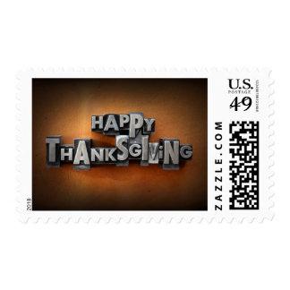 Happy Thanksgiving Postage