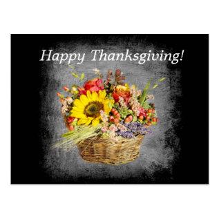 Happy Thanksgiving! Postcard at Zazzle