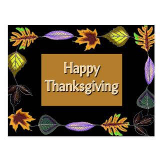 Happy Thanksgiving Postcards