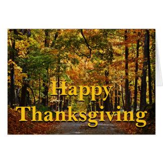 Happy Thanksgiving: Ralph Waldo Emerson Poem Card