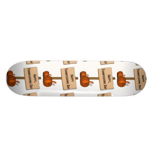 Happy Thanksgiving Sign Custom Skate Board