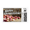 Happy Thanksgiving Stamps stamp