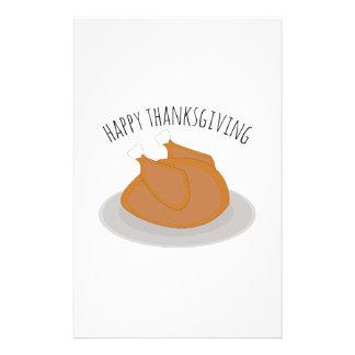Happy Thanksgiving Stationery Design