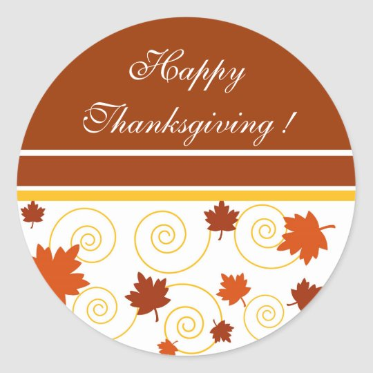 Happy Thanksgiving ! - Sticker