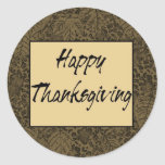 Happy Thanksgiving Stickers