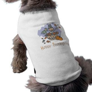 Happy Thanksgiving Surprise Doodle Pet T-shirt