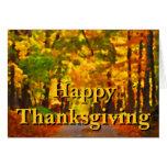 Happy Thanksgiving: Thankfulness Greeting Card