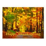 Happy Thanksgiving: Thankfulness Postcards