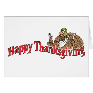 Happy Thanksgiving Turkey Banner Cards