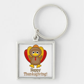 Happy Thanksgiving! Turkey Keychain