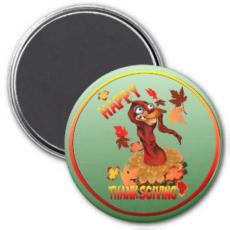 Happy Thanksgiving Turkey-Magnets