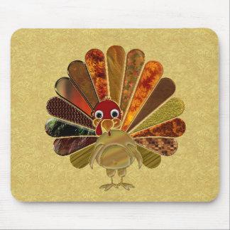 Happy Thanksgiving Turkey - Mousepad