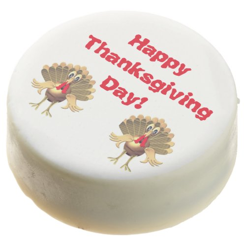 Happy Thanksgiving TurkeyPersonalized Chocolate Covered Oreo