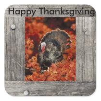 Happy Thanksgiving Turkey sticker