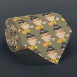 "Happy Thanksgiving Turkey tiled tie<br><div class=""desc"">design by Alice Smith at www.digiwebstudio.com</div>"