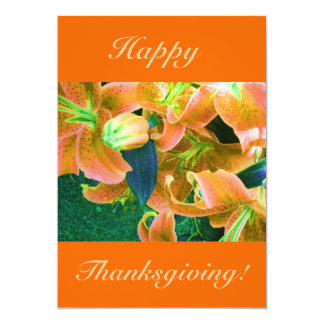 Happy Thanksgiving V Card