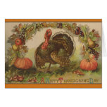 Happy Thanksgiving Vintage Art Cards